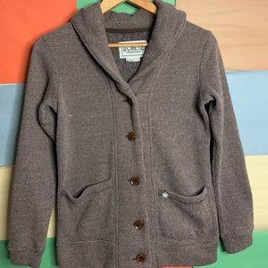 Obey Propaganda Coat Style Cardigan size XS